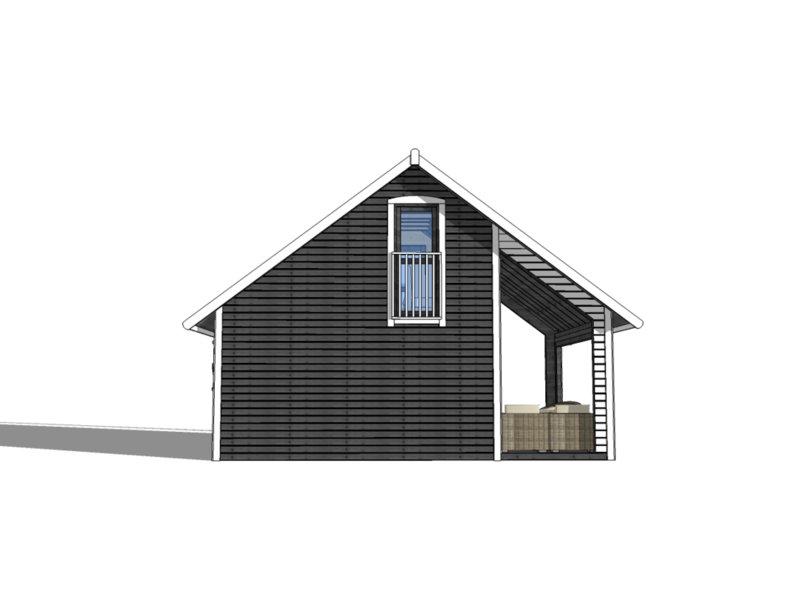 domki z drewna na działkę rod