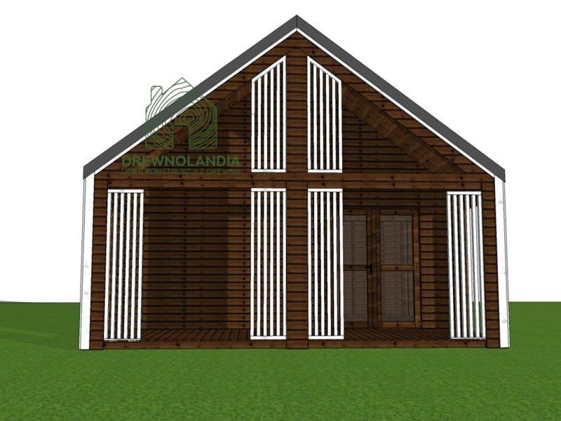 domek drewniany 35m na zgłoszenie