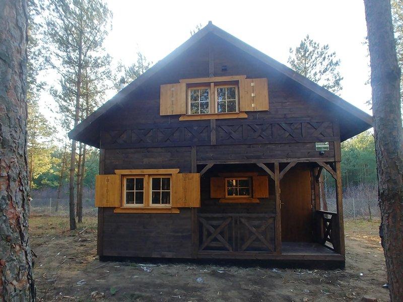 drewniany domek wiktor drewnolandia producent