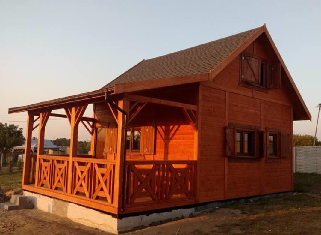 gotowy domek