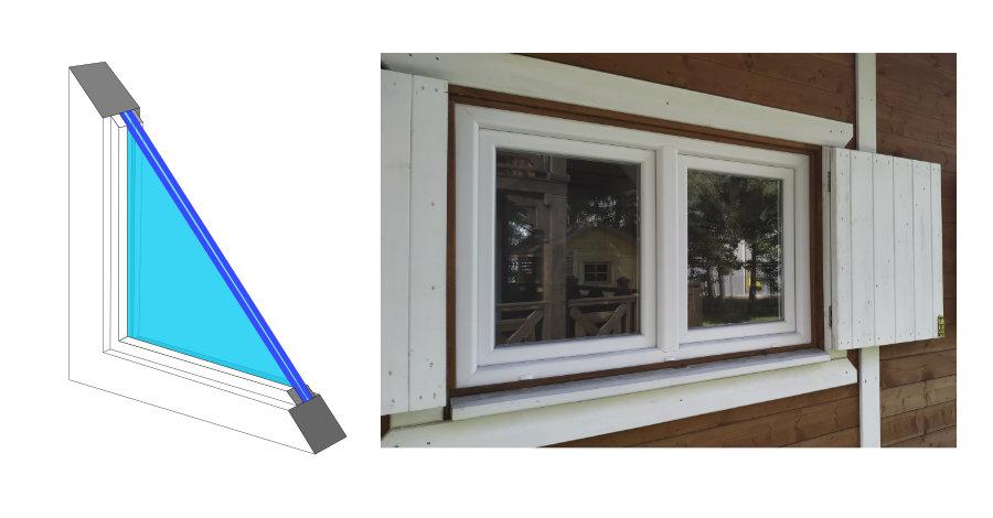 okno przekrój
